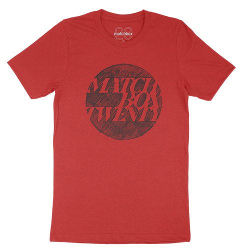 Sketch Heather Red Tee