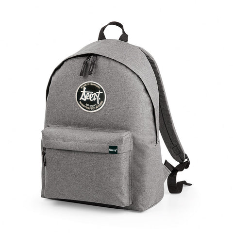 SteezyT® Two-Tone Grey Rucksack Grey, Bags - SteezyT, SteezyT™ Clothing Co