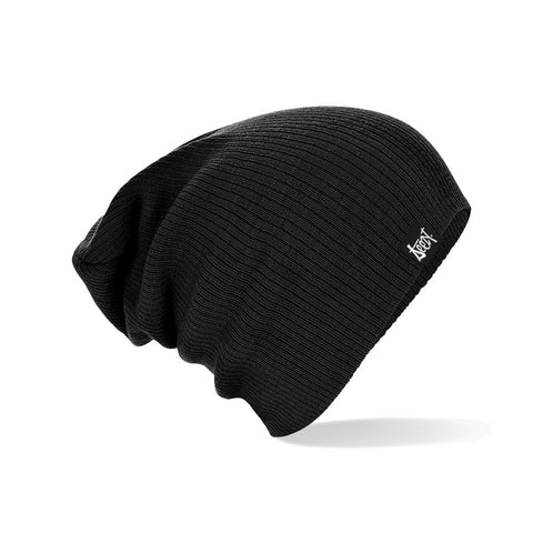 SteezyT® Slouch Beanie - Black Slouch Beanie - Black, Hats - SteezyT, SteezyT™ Clothing Co  - 1