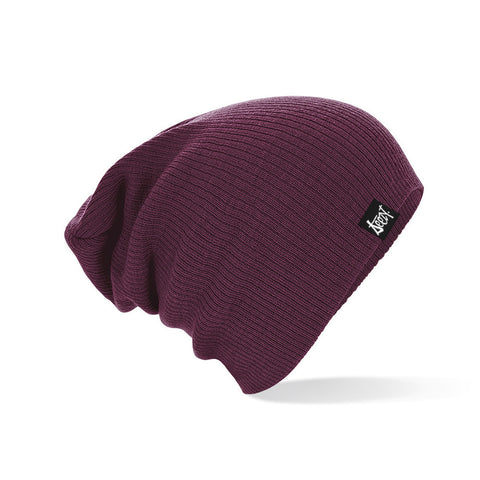 Slouch Beanie - Burgundy Slouch Beanie - Burgundy, Hats - SteezyT, SteezyT™ Clothing Co  - 1