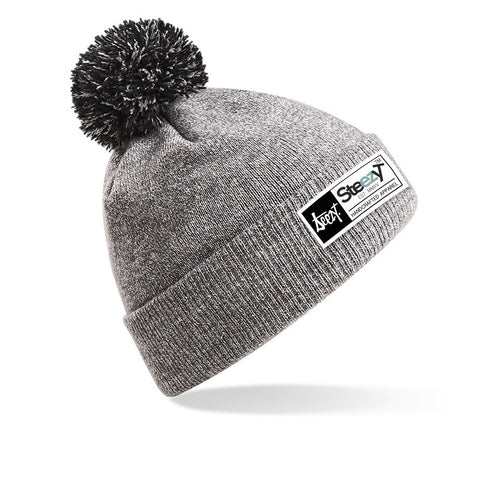Snowstar Beanie Snowstar Beanie - Heather Grey, Hats - SteezyT, SteezyT™ Clothing Co  - 1