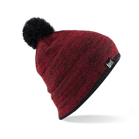SteezyT® Boarder Beanie - Red Boarder Beanie Red/Black, Hats - SteezyT, SteezyT™ Clothing Co  - 1