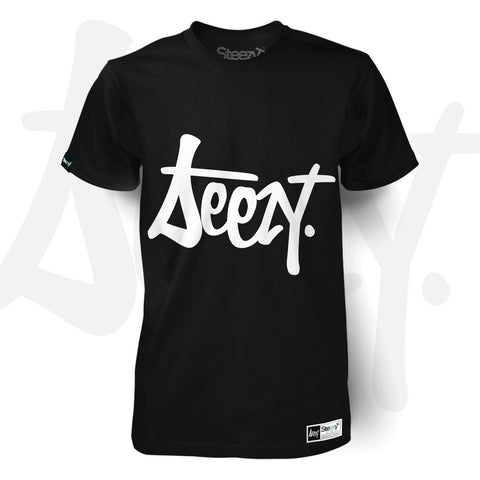 SteezyT® - Emblem T-shirt Small / Black / Unisex, T-Shirt - SteezyT, SteezyT™ Clothing Co  - 1