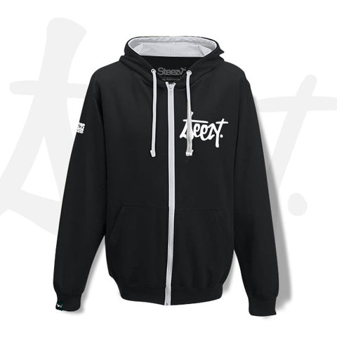 SteezyT® Unisex Zip Hoodie X Large, Outerwear - SteezyT, SteezyT™ Clothing Co  - 1