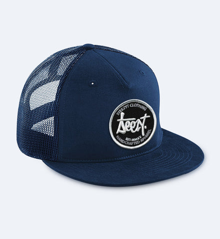 SteezyT® Mesh Snapback - Blue One size fits all, Hats - SteezyT, SteezyT™ Clothing Co
