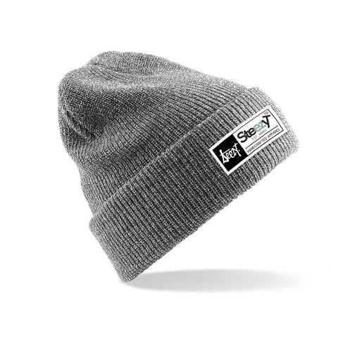 SteezyT® Beanie - Grey Beanie - Grey, Hats - SteezyT, SteezyT™ Clothing Co  - 1