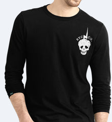 One Man Army - Black Unisex Long sleeve T-Shirt , T-Shirt - SteezyT, SteezyT™ Clothing Co  - 2