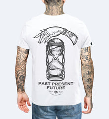Past Present Future - Unisex T-shirt Small, T-Shirt - SteezyT, SteezyT™ Clothing Co  - 1