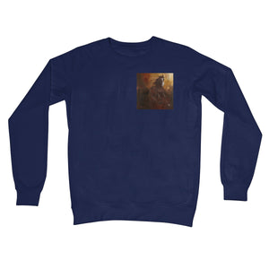 Borne of Fire Crew Neck Sweatshirt