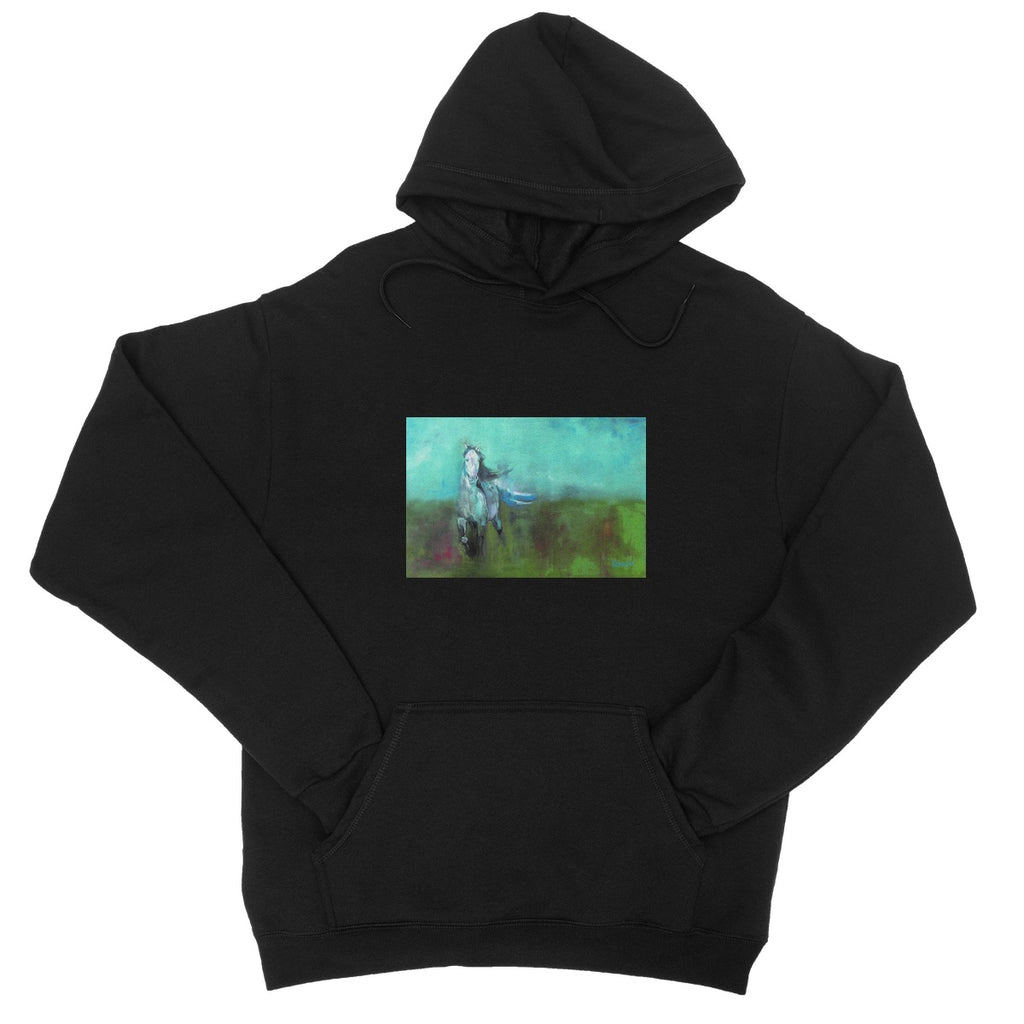 Storm in a Summer Field College Hoodie