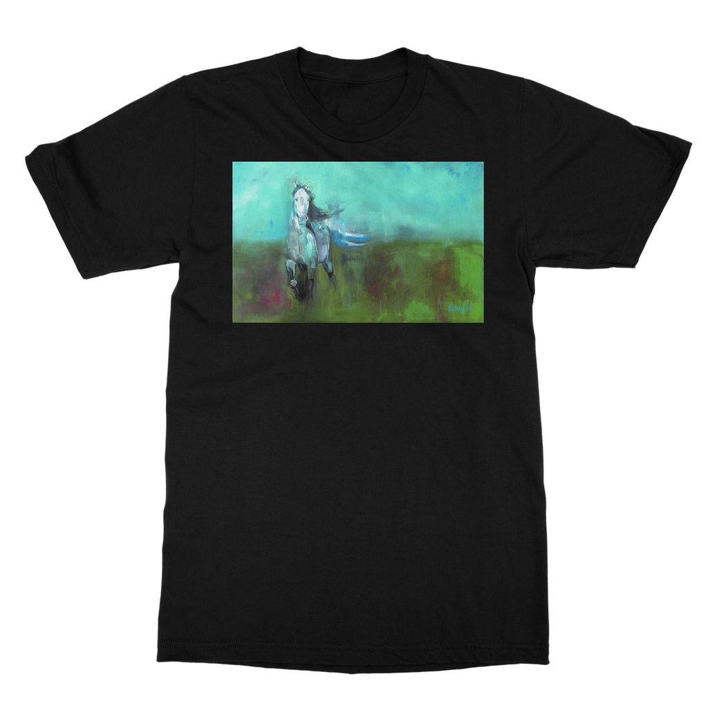 Storm in a Summer Field Softstyle T-Shirt
