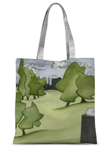 The Park Sublimation Tote Bag
