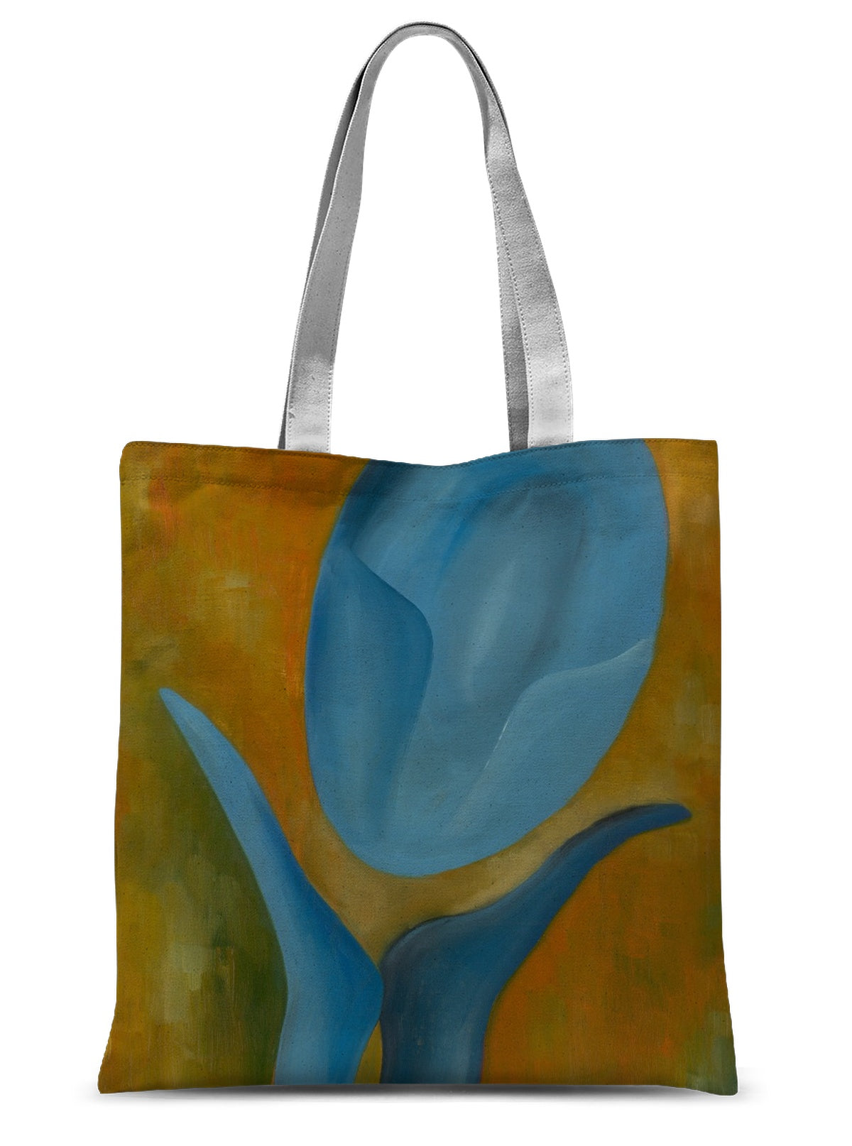Femme Bleue 'Avoir de L'admiration' Sublimation Tote Bag