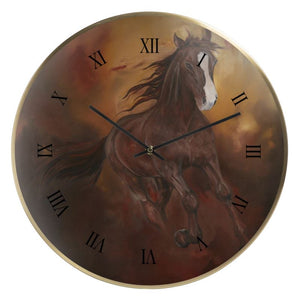 Borne of Fire Wall Clock