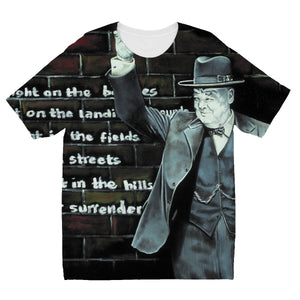 Churchill on Winning Kids' Sublimation T-Shirt