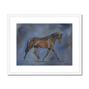 Dressage Framed & Mounted Print