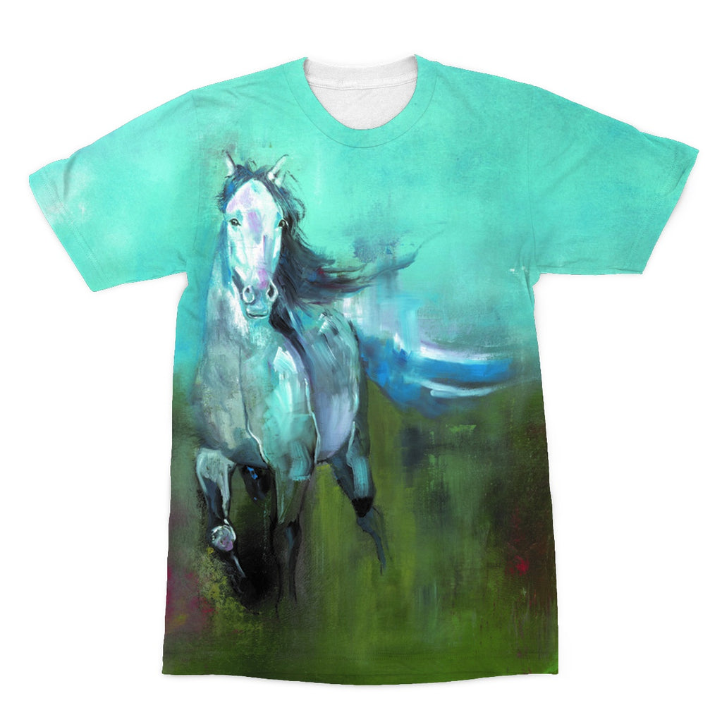 Storm in a Summer Field Sublimation T-Shirt