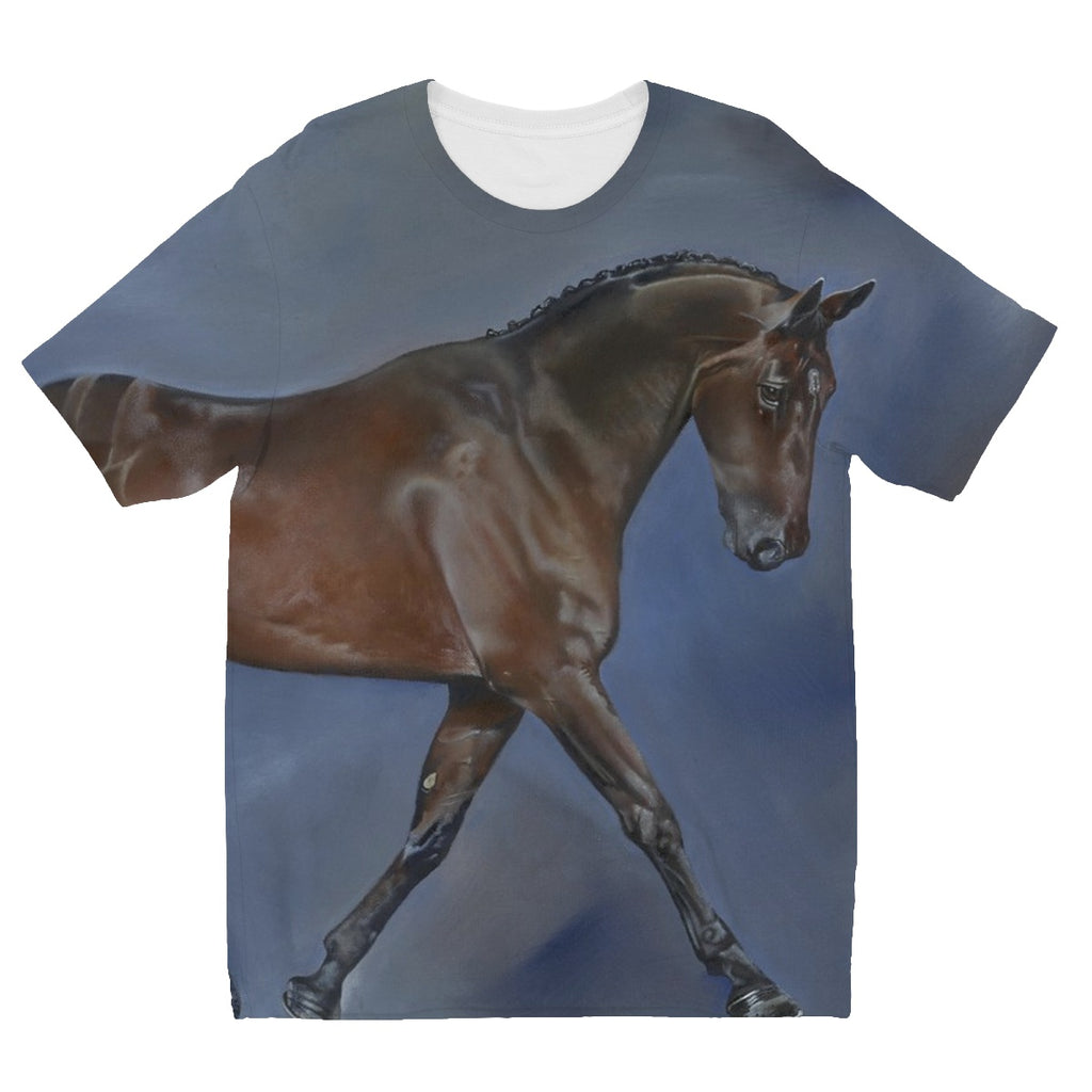 Dressage Kids' Sublimation T-Shirt