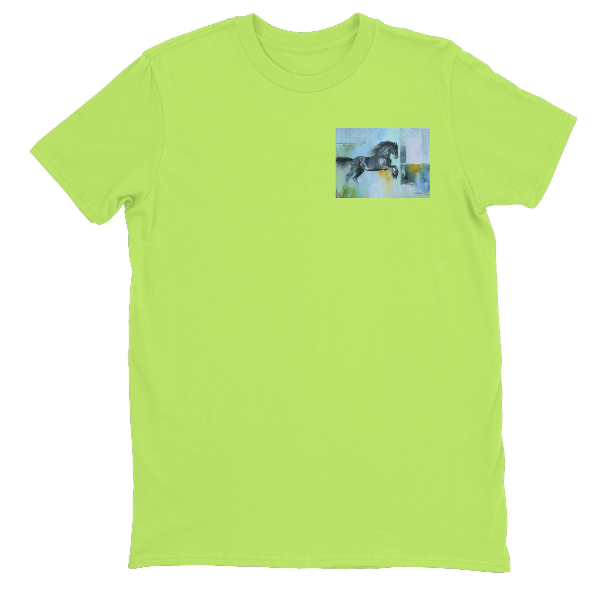 Thunder at Low Tide Unisex Neon T-Shirt