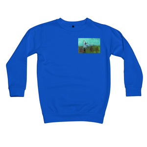 Storm in a Summer Field Kids Retail Sweatshirt