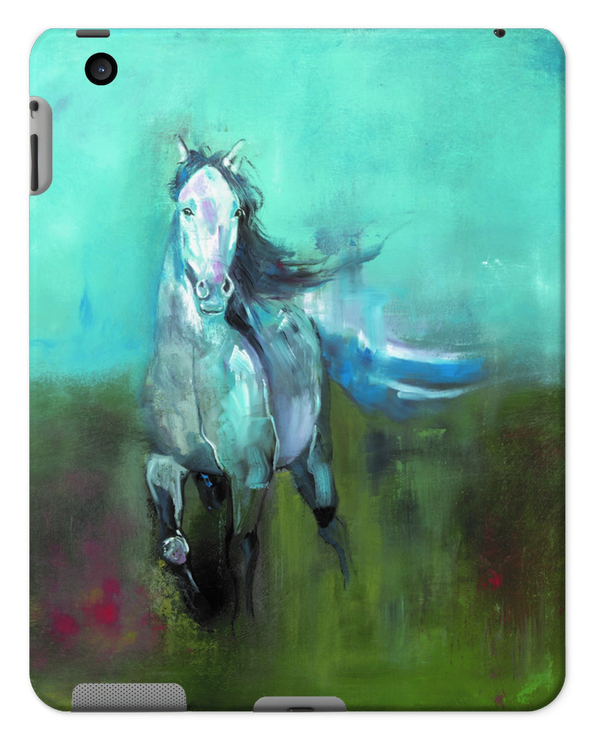 Storm in a Summer Field Tablet Cases