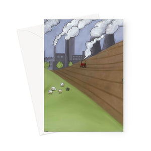 The Farm Greeting Card