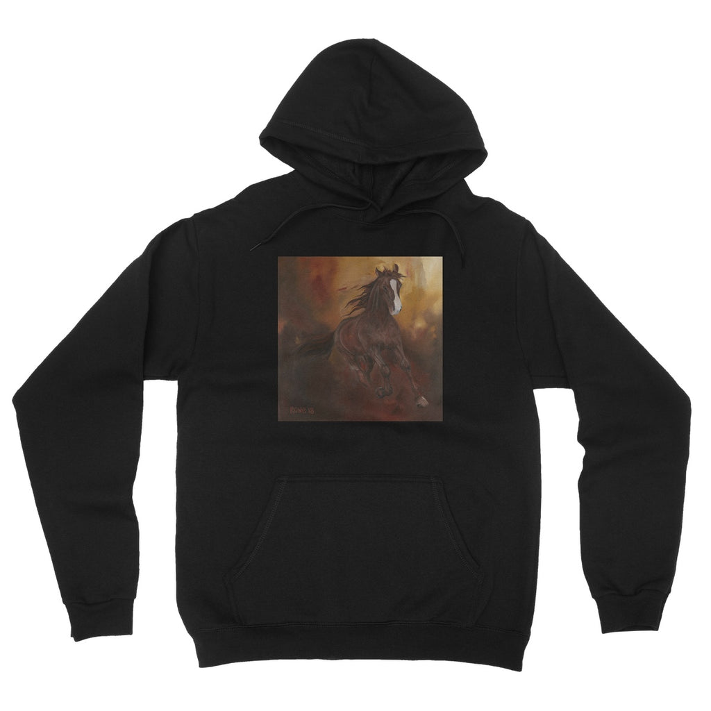 Borne of Fire Fleece Pullover Hoodie