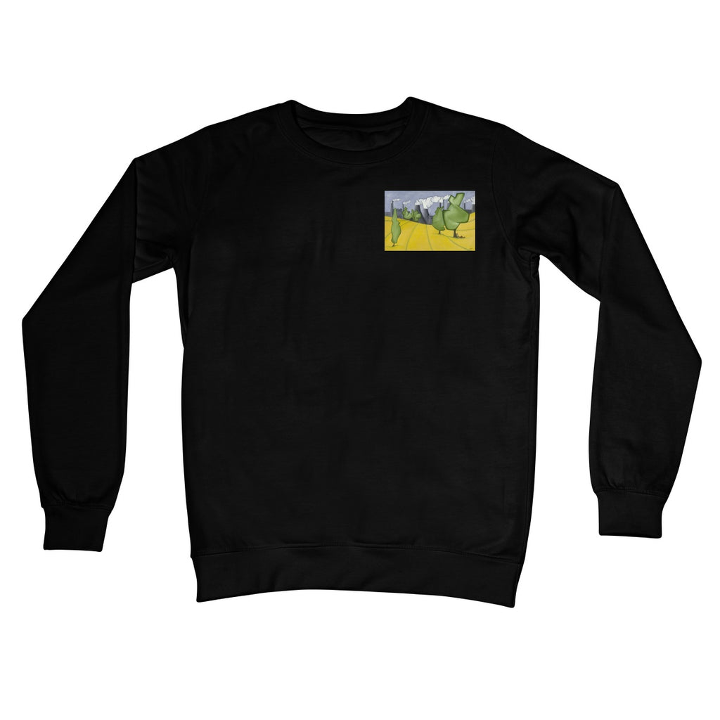 Rape? Crew Neck Sweatshirt