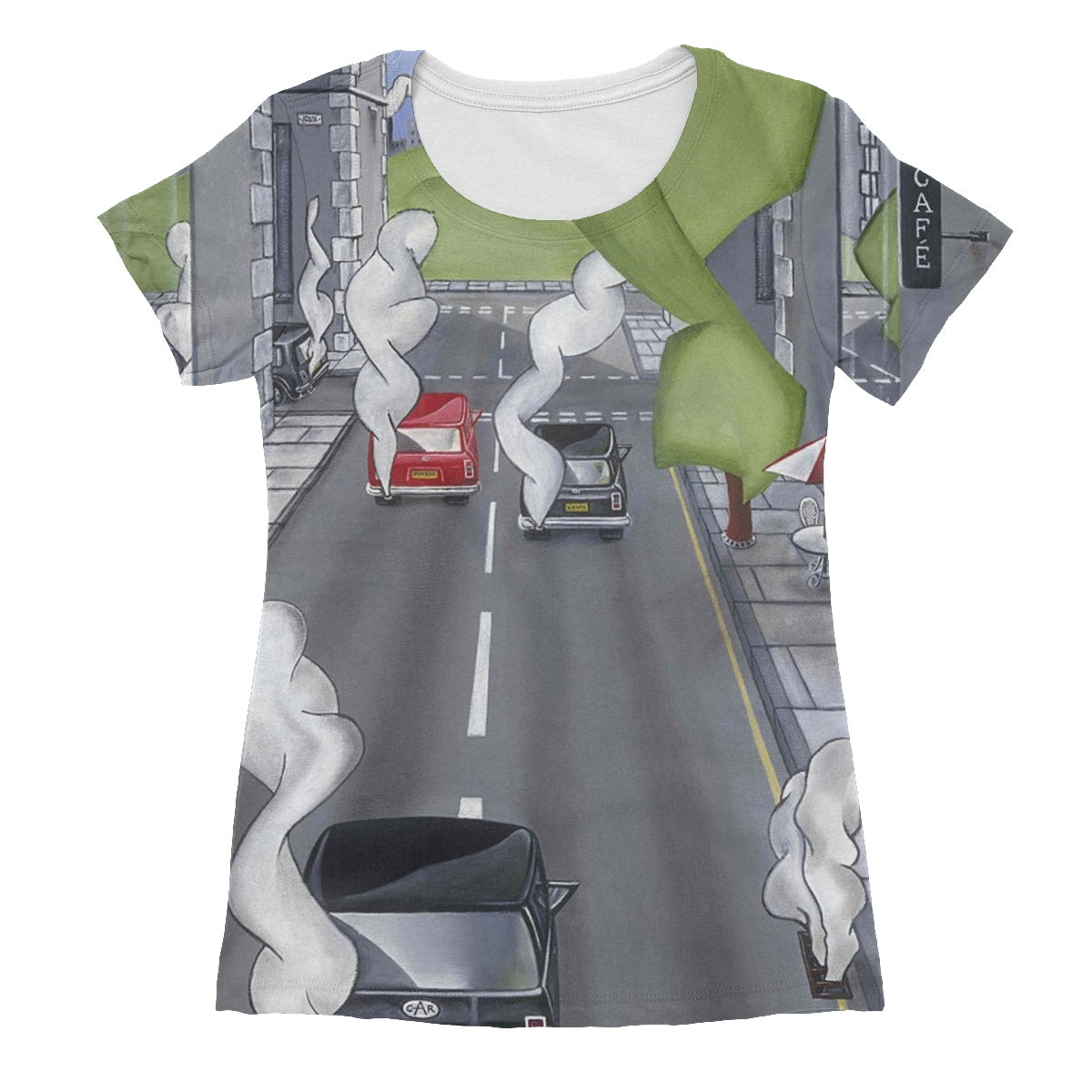 The Cafe Women's Sublimation T-Shirt