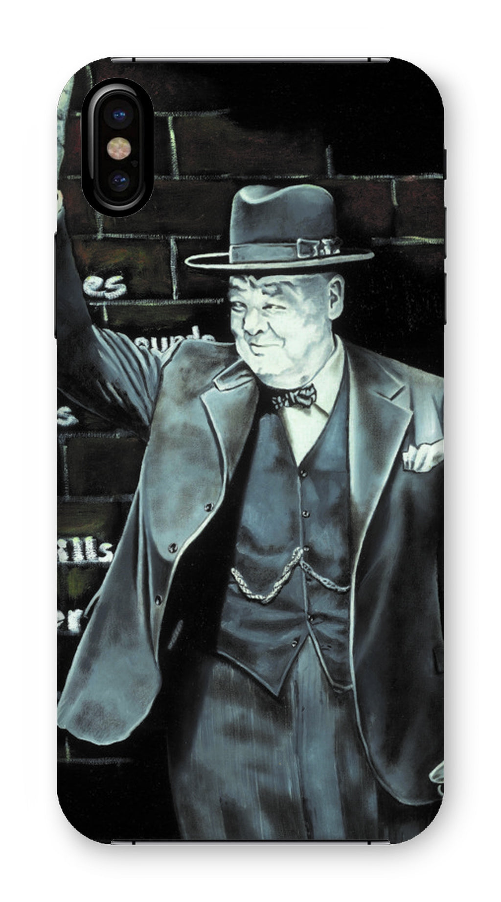 Churchill on Winning Phone Case
