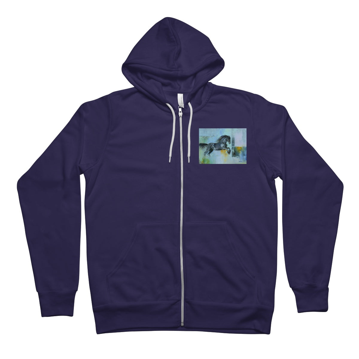Thunder at Low Tide Unisex Full Zip Hoodie