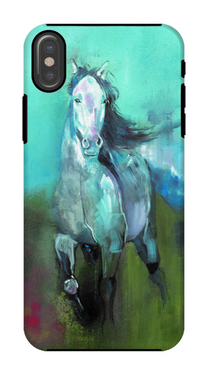 Storm in a Summer Field Phone Case