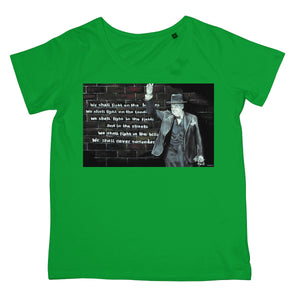 Churchill on Winning Women's Retail T-Shirt