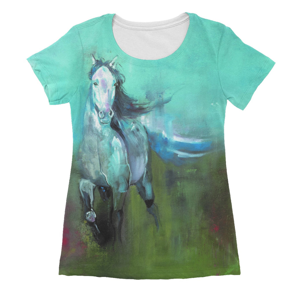 Storm in a Summer Field Women's Sublimation T-Shirt