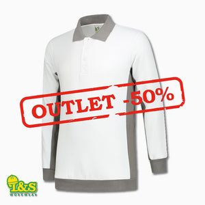 OUTLET: Polosweater Workwear (2 stuks)