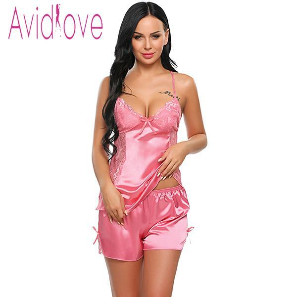 Sleepwear Women Cloth Summer Shorts Pajamas