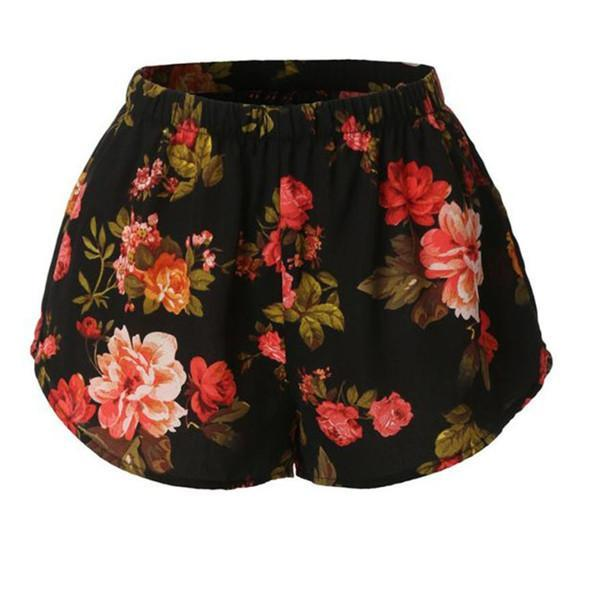 Hot High Waist Printed Shorts