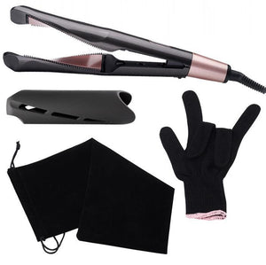 2 in 1 Twist Hair Curling & Straightening Iron