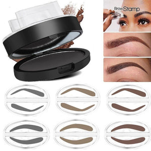 Waterproof Natural Eyebrow Stamp