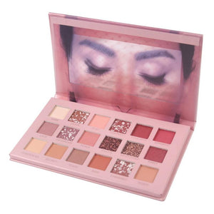 18 Color Nude Shining Eyeshadow Pallete