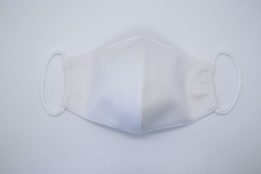 HollyHoux Fashion Face Mask - White