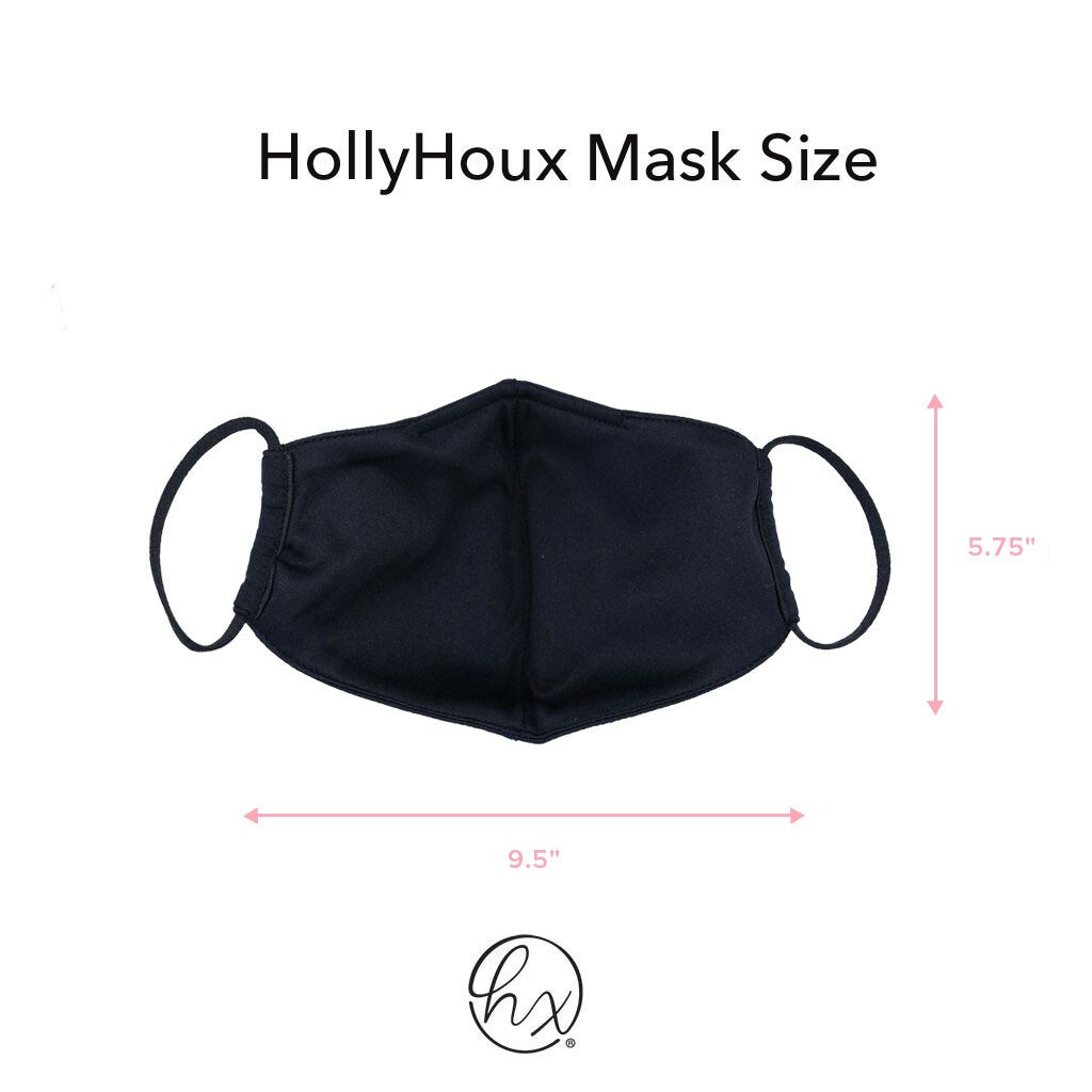 HollyHoux Fashion Face Mask - Blue Americana