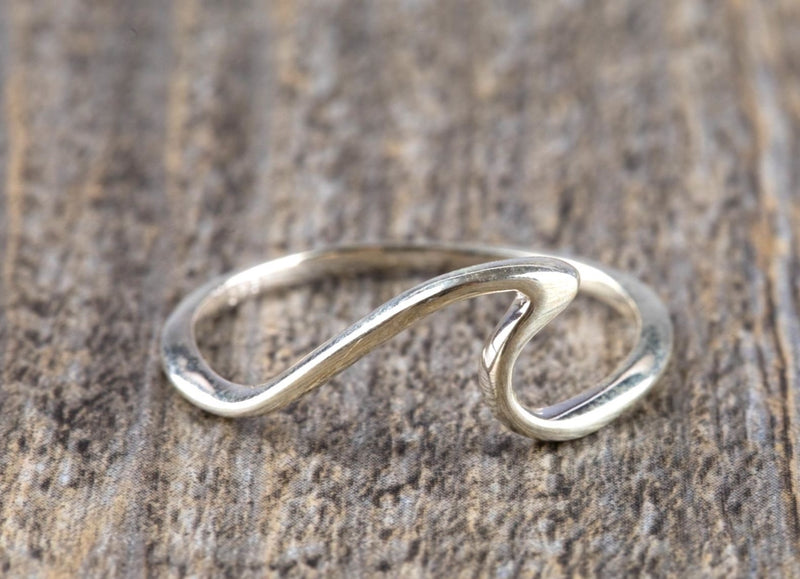 925 Sterling Silver Wave Ring