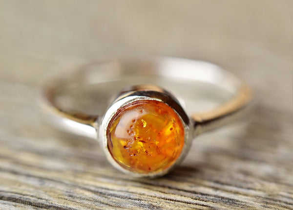 Amber Ring - Kat's Collection