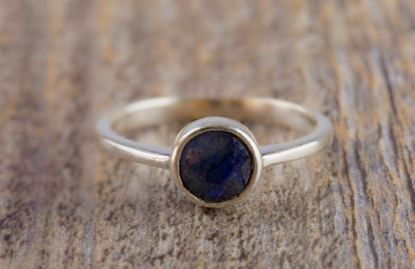 Blue Sapphire Ring - Kat's Collection