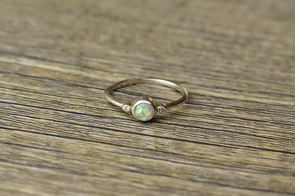 Elixir Opal Ring - Kat's Collection