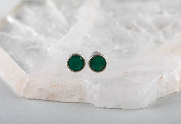 Emerald Earrings - Kat's Collection