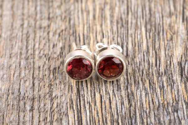 Garnet Earrings - Kat's Collection