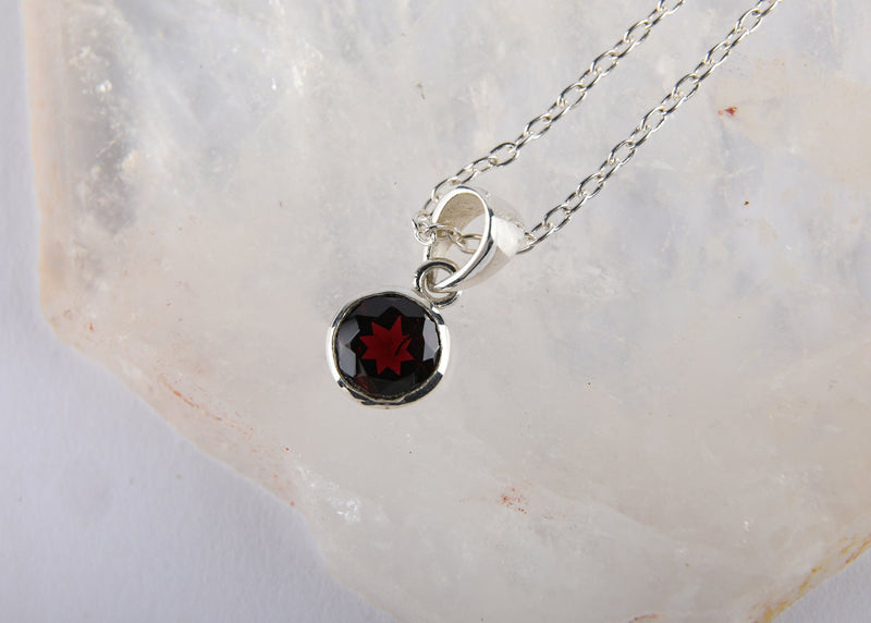 Garnet Pendant - Kat's Collection