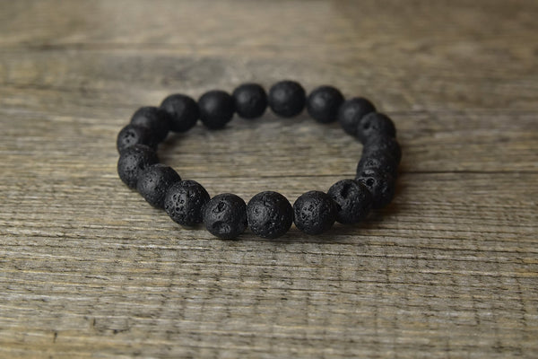 Lava Rock Bracelet - Kat's Collection